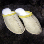 Scuffs - Lambskin Slippers