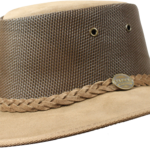 1064 Foldaway Cooler - Leather Australian Hat